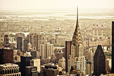 Skylines Photograph - New York City  by Vivienne Gucwa