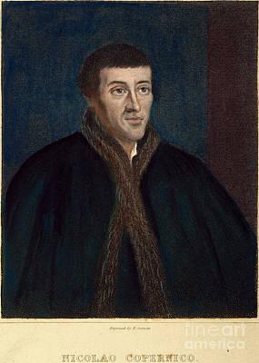 Nicolaus Copernicus Print by Granger