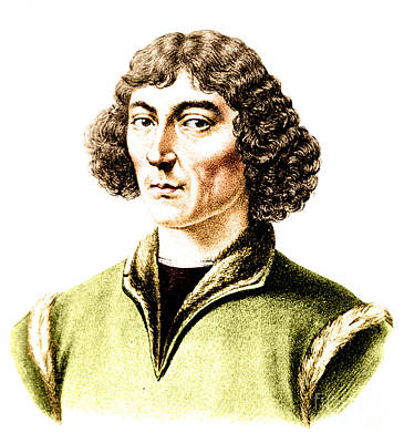 Nicolaus Copernicus, Polish Astronomer Art Print by Science Source