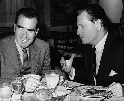 Nixon Vice Presidency.  Vice President Art Print by Everett