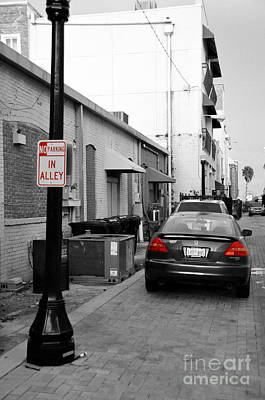 Photograph - No Parking by John Black