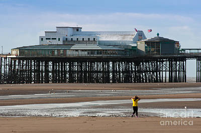People Photograph - North Pier by Andrew  Michael