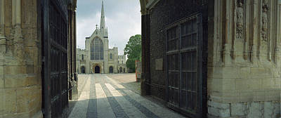 Norwich Cathedral Original by Jan W Faul