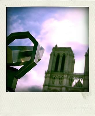 Binoculars Photograph - Notre Dame De Paris. France by Bernard Jaubert