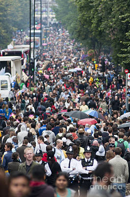 People Photograph - Notting Hill Carnival by Andrew  Michael