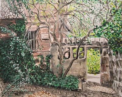 Nuremberg Castle Garden Art Print by Sharon  De Vore