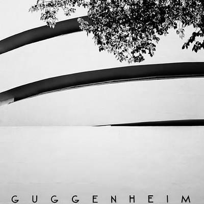 Guggenheim Photograph - Nyc Guggenheim by Nina Papiorek