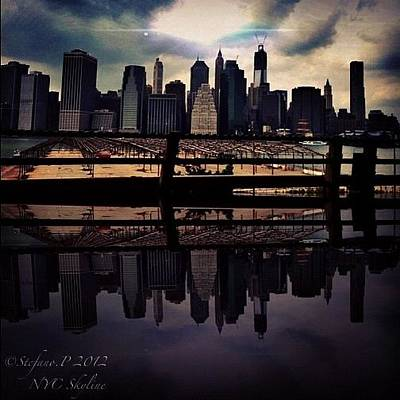 Photograph - Nyc Reflection by Stefano Papoutsakis