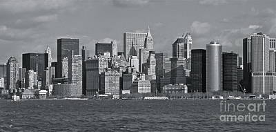 Photograph - Nyc Skyline by Carol  Bradley