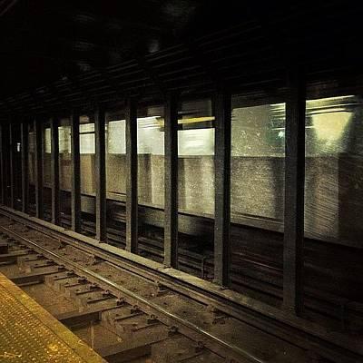 Track Photograph - Nyc Subway by Natasha Marco