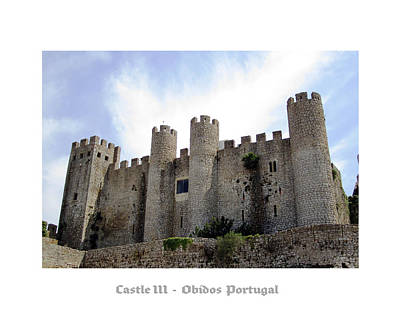 Photograph - Obidos Castle IIi Portugal by John Shiron