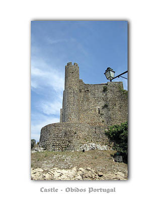 Photograph - Obidos Castle Portugal by John Shiron