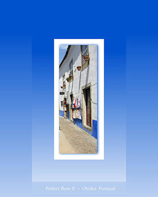 Photograph - Obidos Street II Portugal by John Shiron