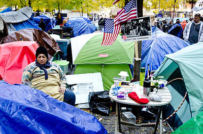 Photograph - Occupy by Johnny Sandaire
