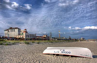 Ocean City Beach Art Print