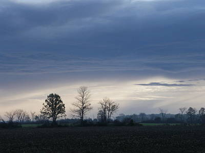 Photograph - October Sky by Peggy King