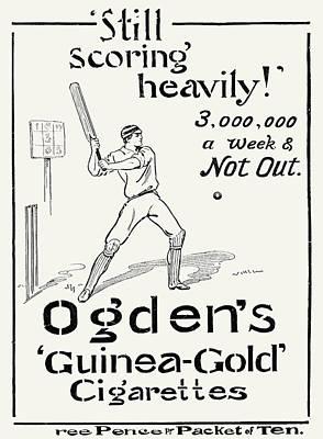 Ogdens Cigarettes, 1897 Art Print by Granger
