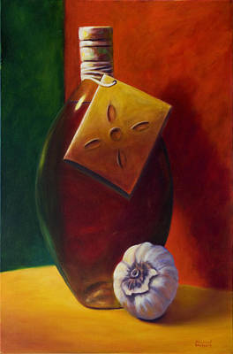 Painting - Oil And Garlic by Shannon Grissom