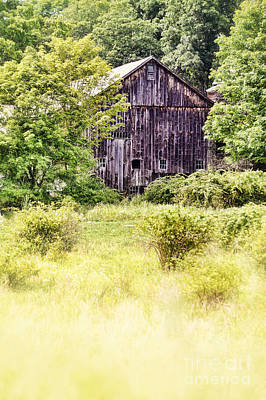Farm Building Photograph - Old Barn by HD Connelly