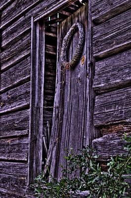 Old Cabin Door Hdr Original