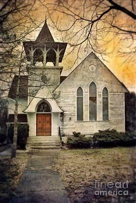 Old Church Art Print by Jill Battaglia