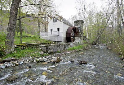 Old Dorset Grist Mill And Stream Art Print