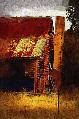 Old House In Australia Art Print