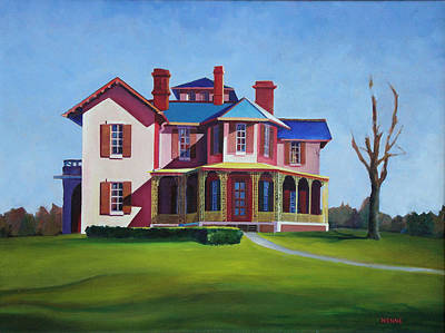 Painting - Old House by Robert Henne
