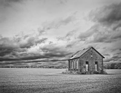 Old School House Photograph - Old School by Brian Mollenkopf