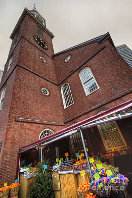 Photograph - Old South Meeting House by Joann Vitali