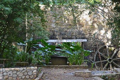 Photograph - Old Sugar Mill Ruins by Carol  Bradley