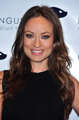 Olivia Wilde At Arrivals For Fix Art Print by Everett