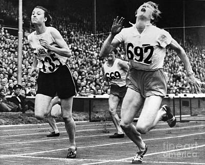Ambition Photograph - Olympic Games, 1948 by Granger