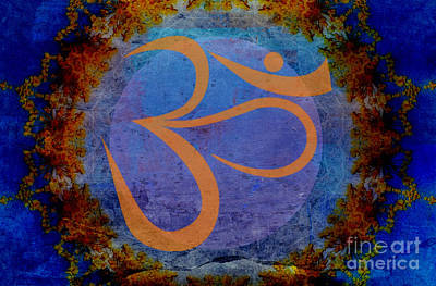 Om Art Print by Sacred  Muse