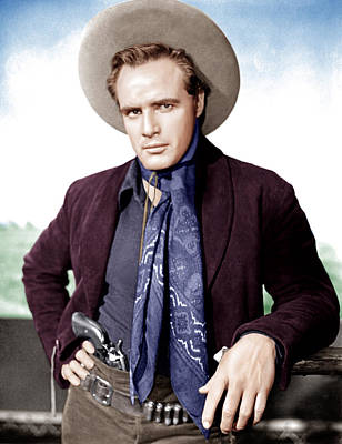 One-eyed Jacks, Marlon Brando, 1961 Art Print