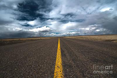 Open Highway Art Print by Arjuna Kodisinghe
