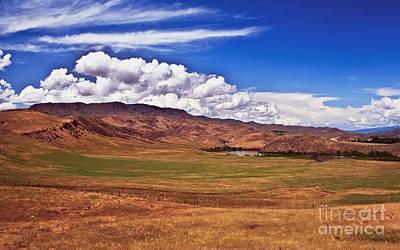 Landsacape Photograph - Open Range by Robert Bales