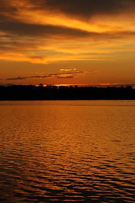 Pink Photograph - Orange Sky At Night by LeeAnn McLaneGoetz McLaneGoetzStudioLLCcom