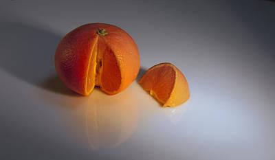 Orange Art Print by Svetlana Sewell