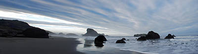 Olympic National Park Photograph - Oregon Coast Panorama by Twenty Two North Photography