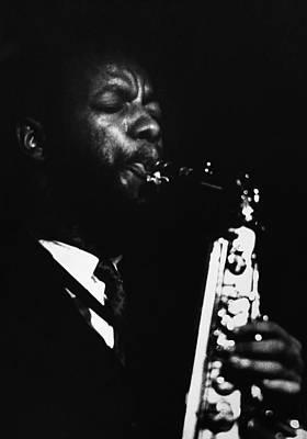Saxophonist Photograph - Ornette Coleman (1930- ) by Granger