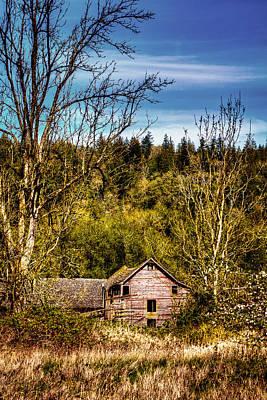 Barn Photograph - Orting Barn by David Patterson