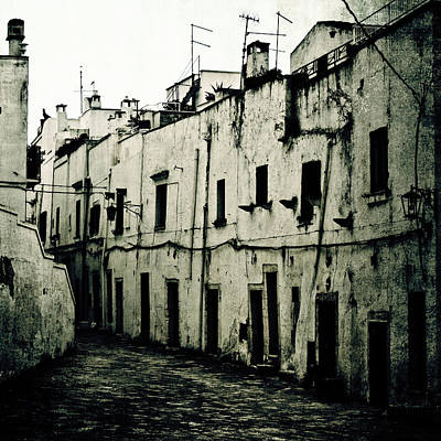 Ghetto Photograph - Ostuni - Apulia by Joana Kruse