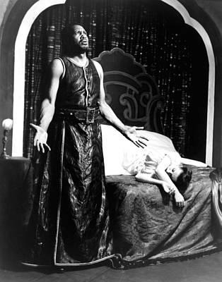 Othello, Uta Hagen As Desdemona, Paul Print by Everett