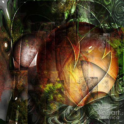 Digital Art - Other World by Monroe Snook