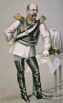 Maltese Photograph - Otto Von Bismarck by Granger
