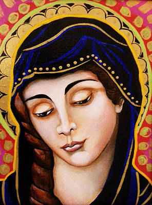 Christina Miller Painting - Our Lady Of Sorrows by Christina Miller