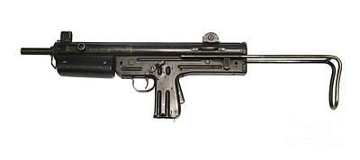 Pa3-dm Argentine 9mm Submachine Gun Art Print by Andrew Chittock
