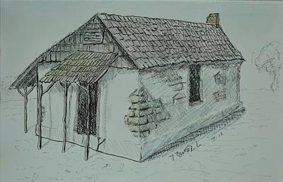 Excursion Mixed Media - Pacheco Adobe by Bob Rowell