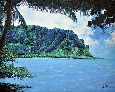 Painting - Pacific Island by Stan Hamilton